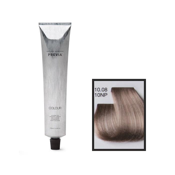 Vopsea permanenta Previa Vibrant Shiny Colour 10.08 10NP Natural Platinum Pearl 100 ml 0