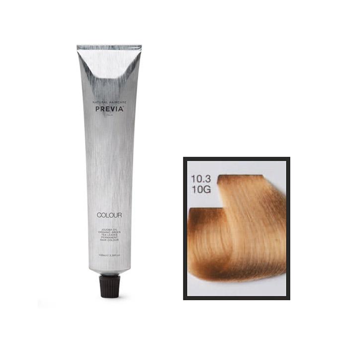 Vopsea permanenta Previa Vibrant Shiny Colour 10.3 10G Platinum Blonde 100 ml [0]