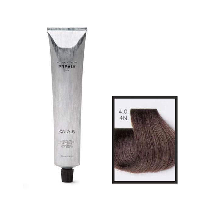 Vopsea permanenta Previa Vibrant Shiny Colour 4.0 4N Medium Brown 100 ml [0]