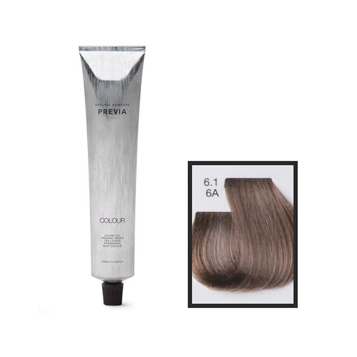 Vopsea permanenta Previa Vibrant Shiny Colour 6.1 6A Dark Ash Blonde 100 ml [0]