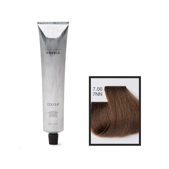 Vopsea permanenta Previa Vibrant Shiny Colour 7.00 7NN Medium Intense Natural Blonde 100 ml [0]