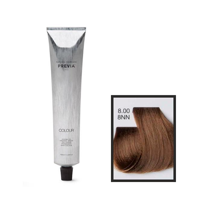 Vopsea permanenta Previa Vibrant Shiny Colour 8.00 8NN Light Intense Natural Blonde 100 ml [0]