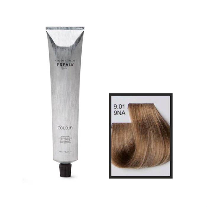 Vopsea permanenta Previa Vibrant Shiny Colour 9.01 9NA Very Light Natural Ash Blonde 100 ml [0]