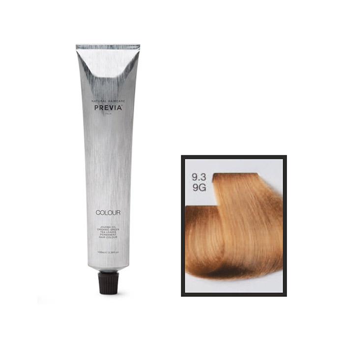Vopsea permanenta Previa Vibrant Shiny Colour 9.3 9G Very Light Golden Blonde 100 ml 0