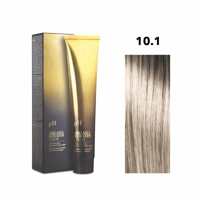 Vopsea pH Laboratories Argan & Keratin Ash Platinum Blonde 10.1  100 ml [0]