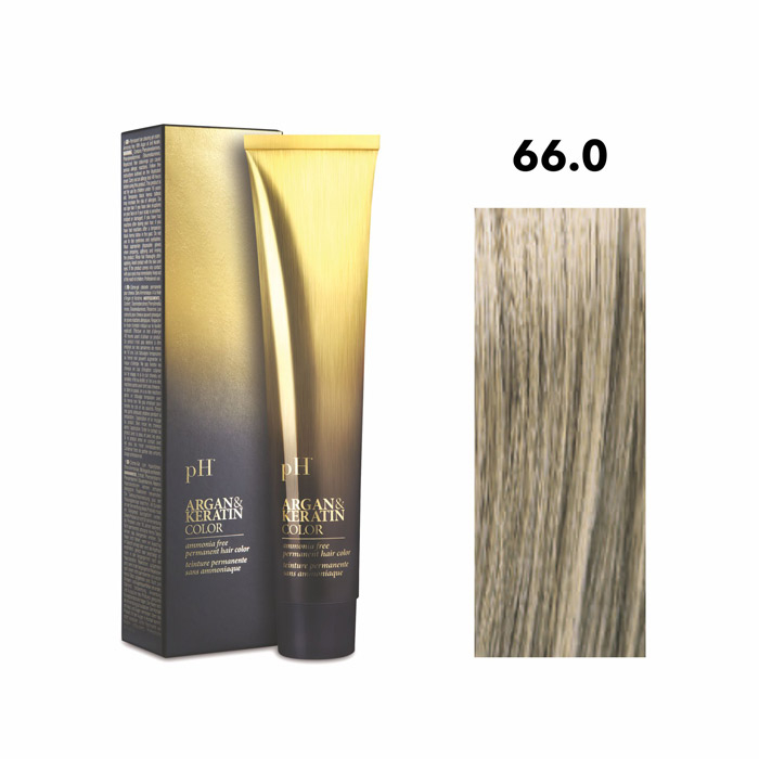 Vopsea pH Laboratories Argan & Keratin Cold Natural Dark Blonde 66.0  100 ml [0]