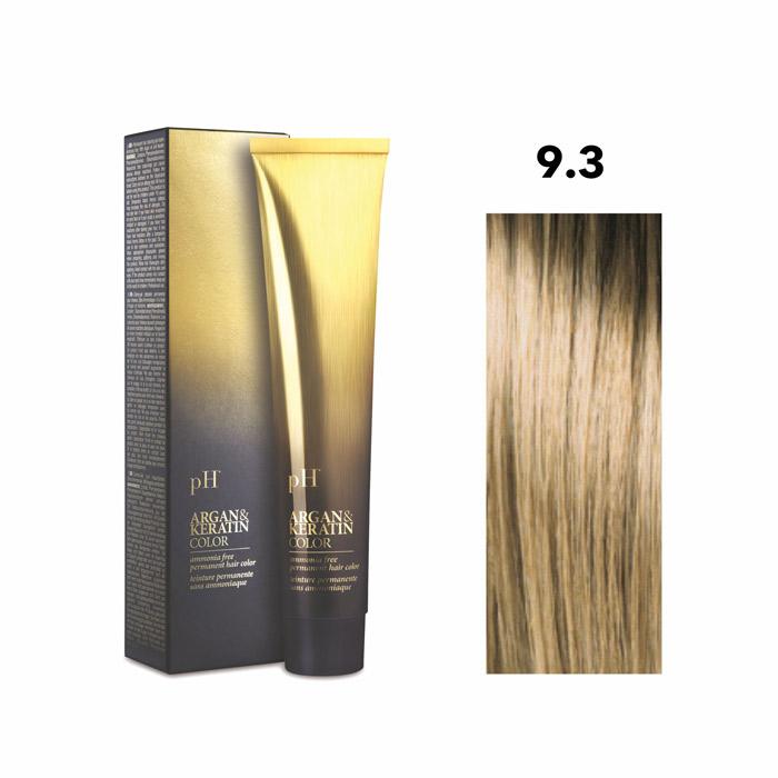 Vopsea pH Laboratories Argan & Keratin Golden Very Light Blonde 9.3  100 ml [0]