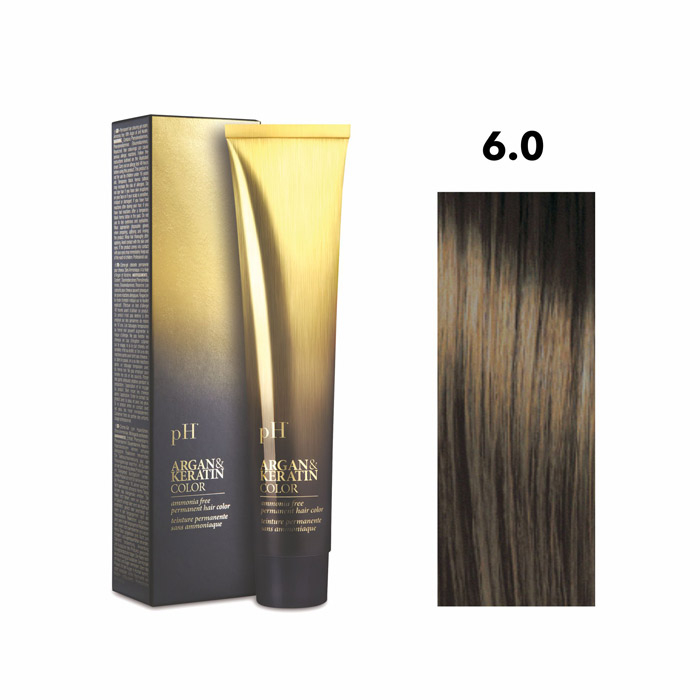 Vopsea pH Laboratories Argan & Keratin Natural Dark Blond 6.0 100 ml [0]
