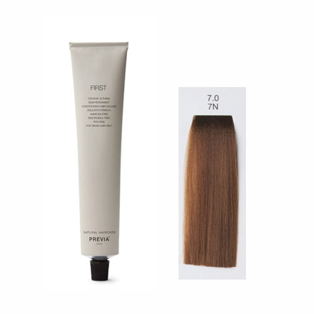 Vopsea Semipermanenta Previa First Colour NATURAL 7.0 7N DARK BLONDE 100 ml 0