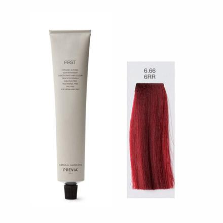 Vopsea Semipermanenta Previa First Colour RED 6.66 6RR LIGHT BEIGE BLONDE 100 ml [0]