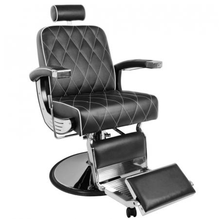 Scaun bărbier / frizer GABBIANO IMPERIAL BLACK [1]