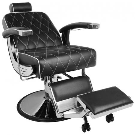 Scaun bărbier / frizer GABBIANO IMPERIAL BLACK [0]