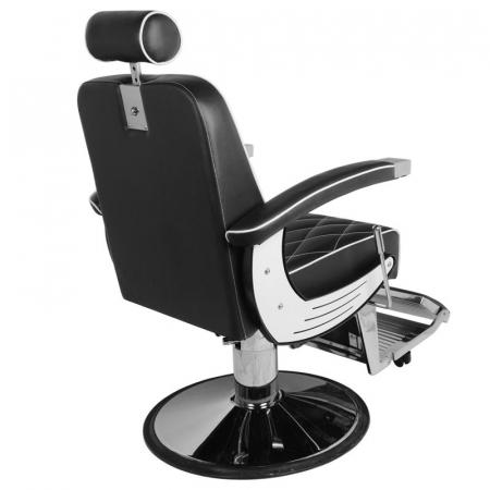 Scaun bărbier / frizer GABBIANO IMPERIAL BLACK [2]