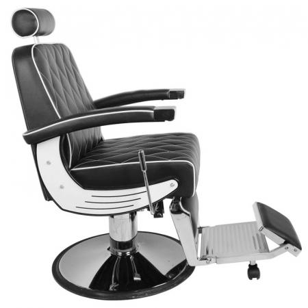 Scaun bărbier / frizer GABBIANO IMPERIAL BLACK [3]