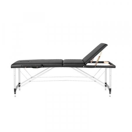 Pat pentru epilat si masaj COMFORT 3 Negru [2]