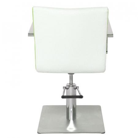 Scaun coafor Roma White-Green [1]