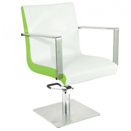 Scaun coafor Roma White-Green [0]