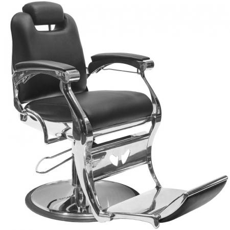 Scaun frizerie Angelo Black [0]