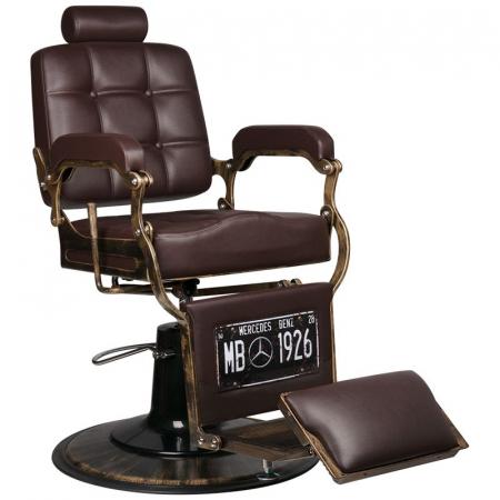 Scaun frizerie Boss Old Brown [0]