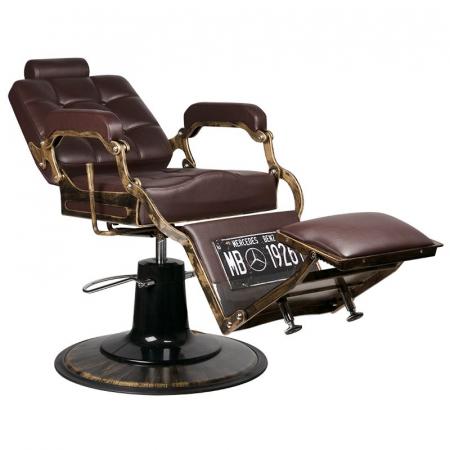 Scaun frizerie Boss Old Brown [3]