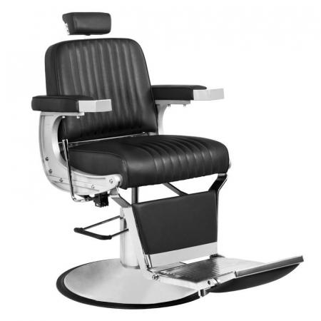 Scaun frizerie Continetal Black [0]