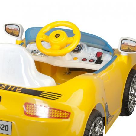 Scaun frizerie copii Car Prosche [3]