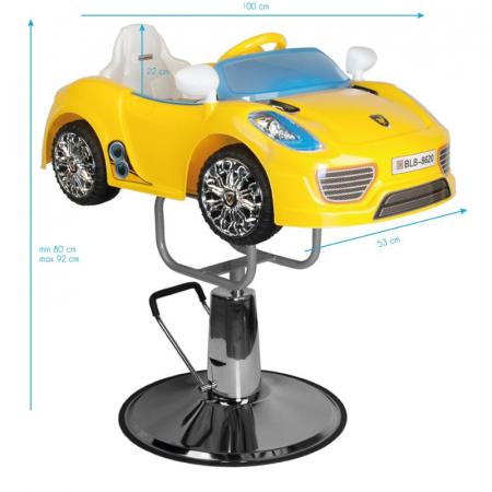 Scaun frizerie copii Car Prosche [4]