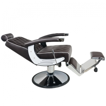 Scaun frizerie Imperial Brown [1]