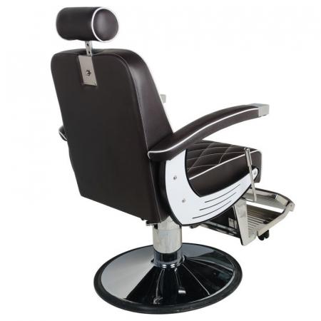 Scaun frizerie Imperial Brown [2]