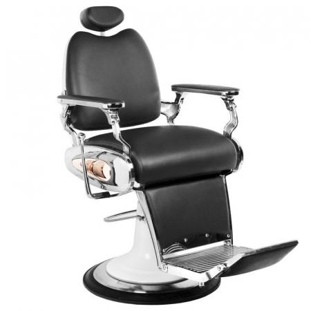 Scaun frizerie Moto Style Black [0]