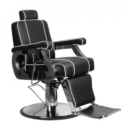 Scaun frizerie Paulo Black [0]