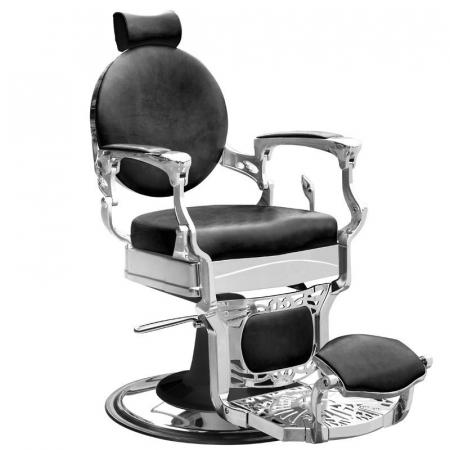 Scaun frizerie President Black [0]