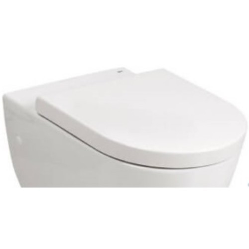 Capac WC Emma Rounded soft alb [0]