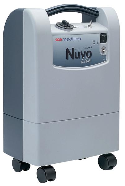 Diagnosticare NUVO Lite Mark 5 litri - Concentrator de Oxigen Stationar 0
