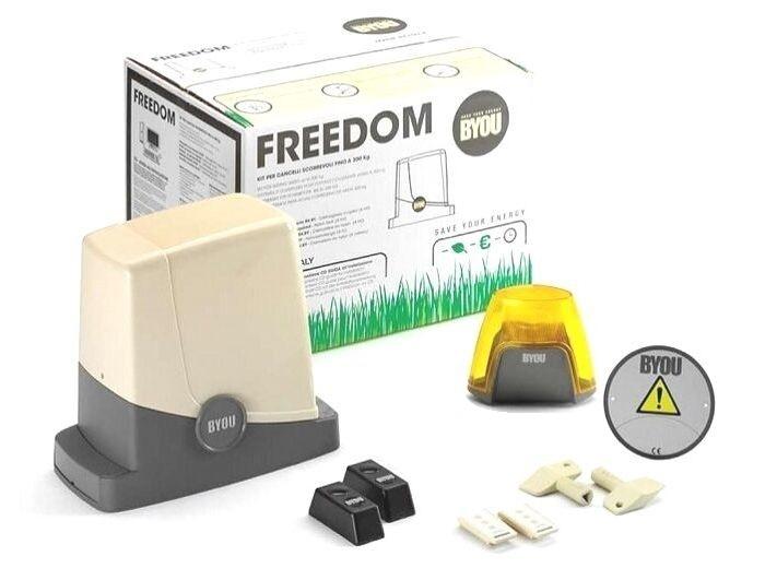 Kit pentru porti culisante de maxim 350 Kg FREEDOM [0]
