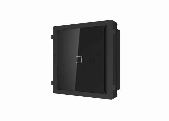 Modul cititor de card Mifare pentru videointerfon modular DS-KD-M Hikvision [0]