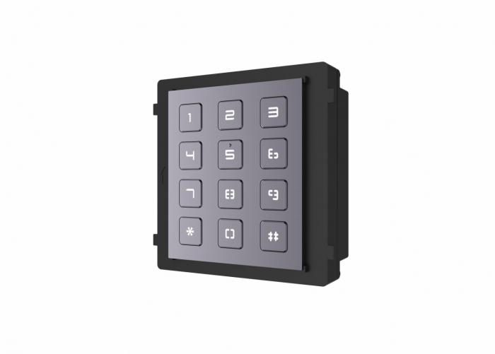 Modul de extensie videointerfon cu tastatura DS-KD-KP Hikvision [0]