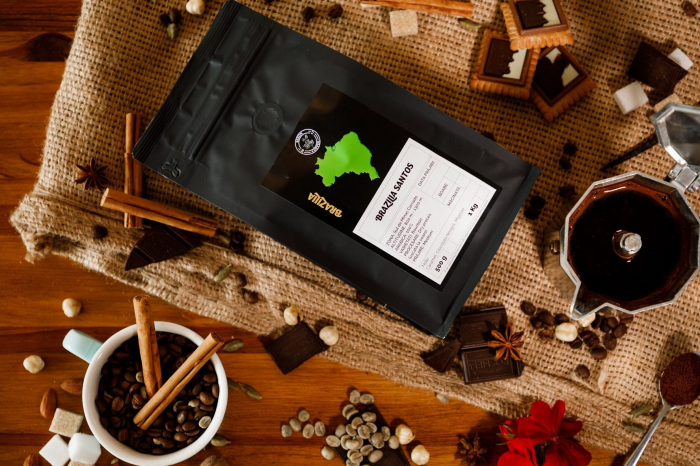 Specialty Coffee BRAZILIA SANTOS - Cafea Arabica Proaspat Prajita [2]