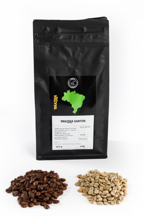 Specialty Coffee BRAZILIA SANTOS - Cafea Arabica Proaspat Prajita [1]
