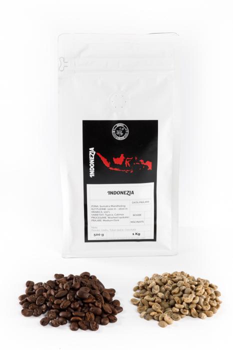 Specialty Coffee INDONEZIA SUMATRA MANDHELING - Cafea Arabica Proaspat Prajita [1]