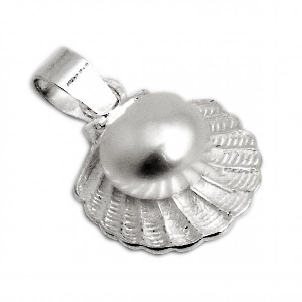 Pandantiv din Argint Scoica cu Perla [0]