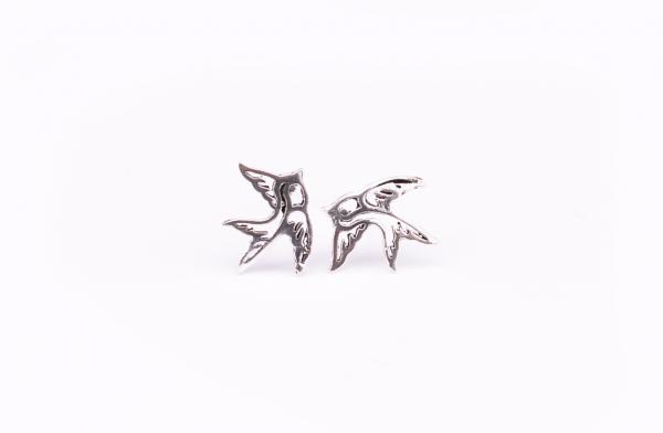 Cercei Argint Porumbei 0