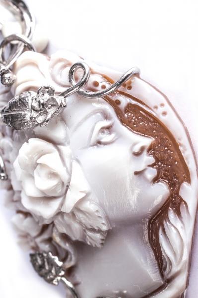 Pandantiv  din Argint cu Camee 1