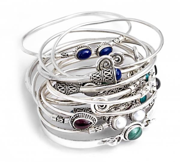 Brățară din Argint cu Perle de Cultură Flexibilă 2