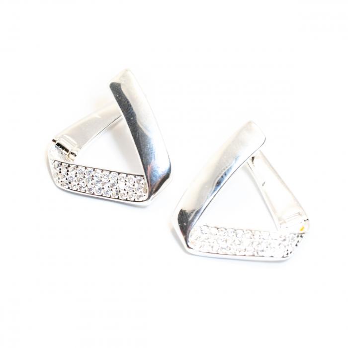 Cercei din Argint cu Zirconiu [0]