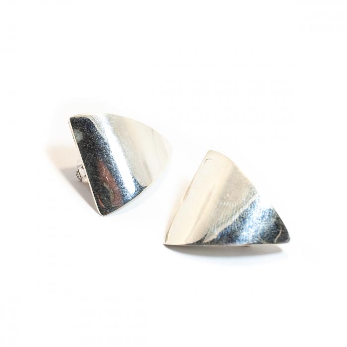 Cercei Clips cu Argint [0]
