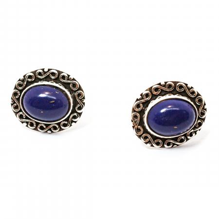 Cercei din Argint cu Lapis Lazuli [1]