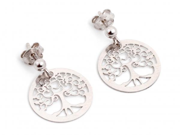 Cercei din Argint Copacul Vieţii 0