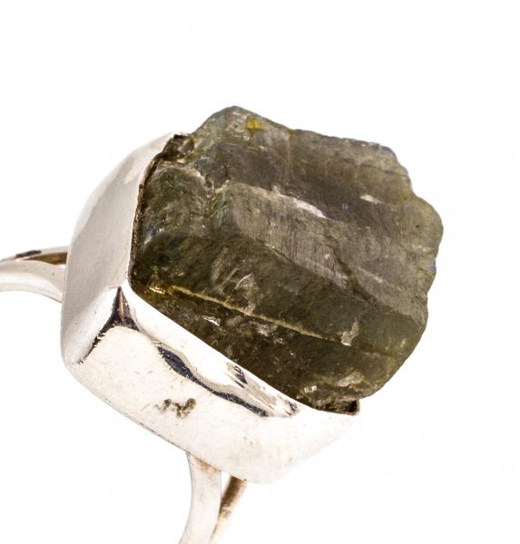 Inel din Argint cu  Labradorit Brut 0