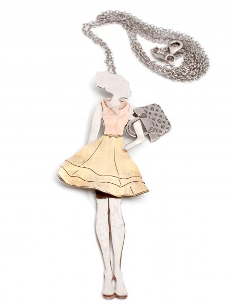 lant argint fetita poseta sheba bijuterii